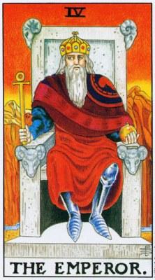 Значение, толкование карты Таро - Император Старший Аркан