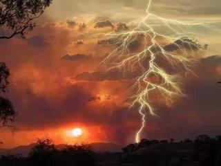 Суеверия про гром и молнию