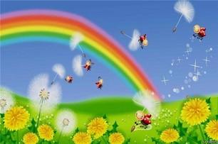 Суеверия про радугу.