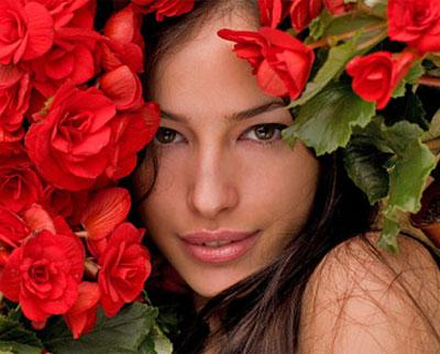 Любимые цветы и характер