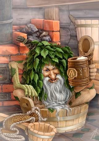 Баенник-мифический хозяин бани