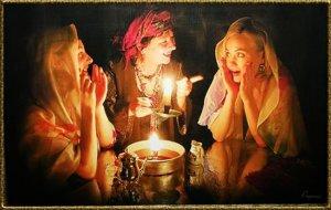 Святочные гадания в бане