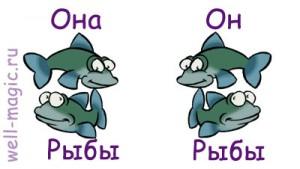 Она-Рыбы, он-Рыбы