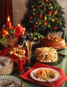 Русские блюда на Новый Год