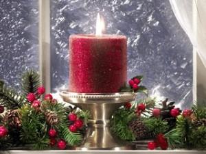 Рождественская свечка