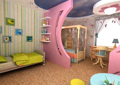 Фэн-шуй для детской комнаты