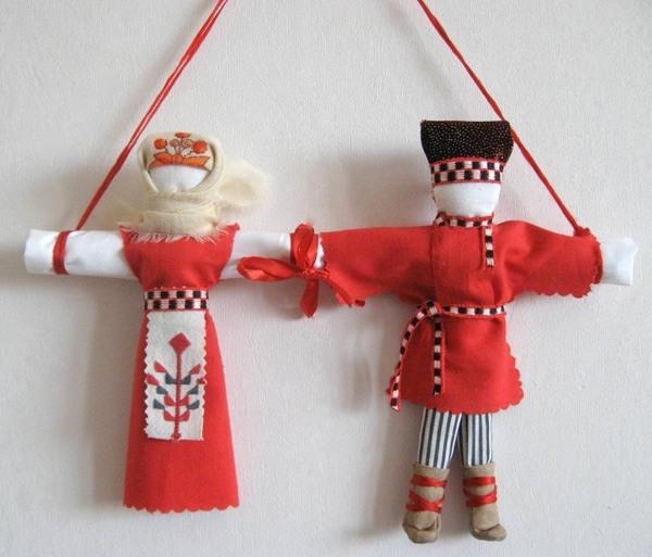 обережная кукла неразлучница