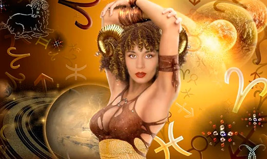 Смотреть гороскоп   завтра овен женщи  любовный